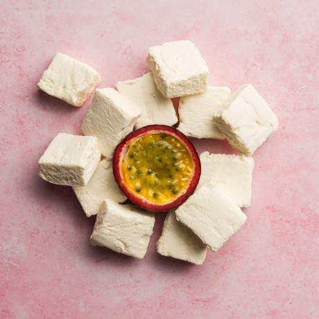 MellowMallow Handmade Passion Fruit Marshmallows